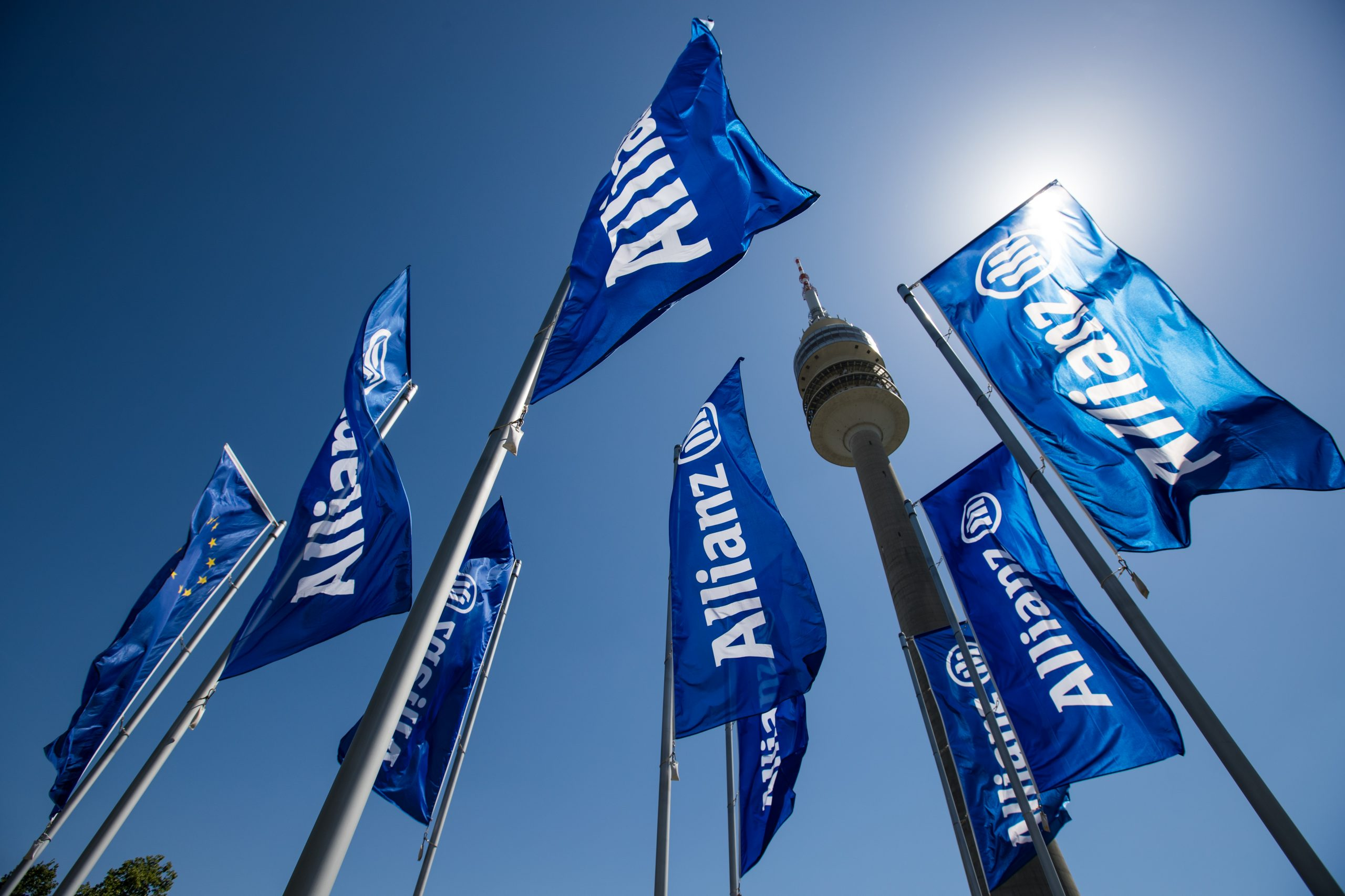 Drapeaux Allianz
