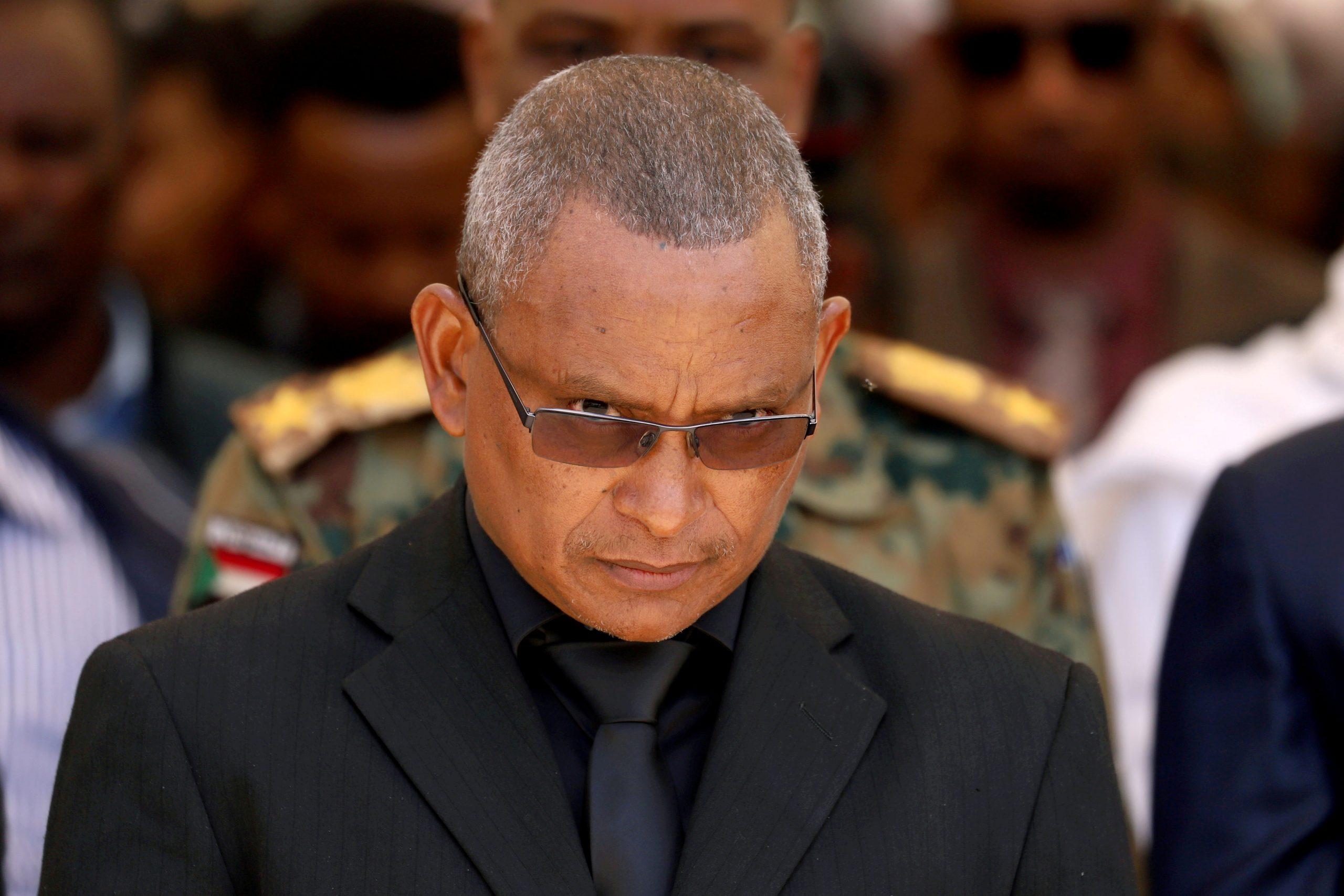 Debretsion Gebremichael, le président du TPLF, lors de funérailles de chef d'état-major de l'armée éthiopienne, Sera Mekonnen, à Mekele le 26 juin 2019.