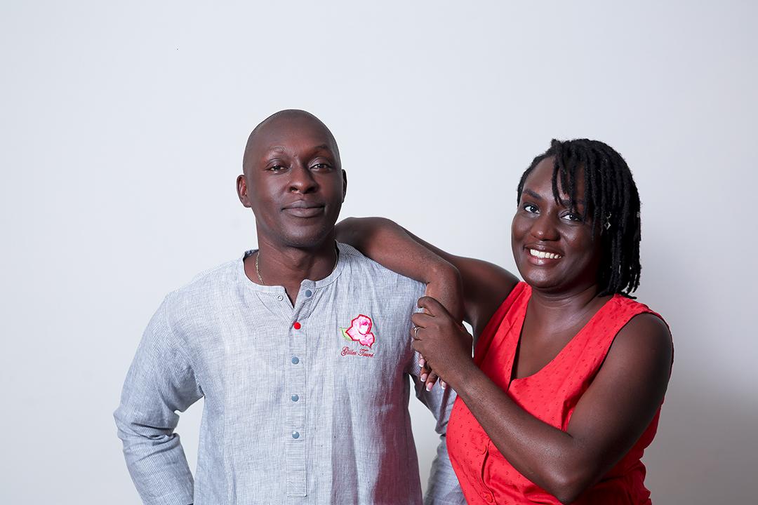 Frédéric et Lisette Ebagnyni Cakpo, fondateurs de la marque « Connais-tu mon beau pays ? »