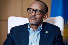 Le président rwandais Paul Kagame, lors d'une interview accordée a Jeune Afrique. A Kigali, le 23 mars 2019