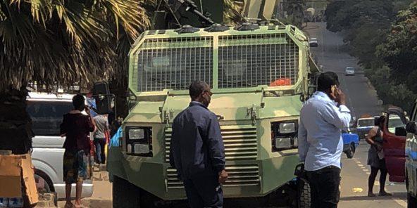 Une patrouille de l'armée éthiopienne à Addis-Abeba, le 26 novembre 2020. Photo d'illustration.
