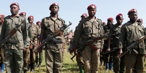 Des soldats congolais à Béni, dans le Nord-Kivu, en 2018 (illustration).