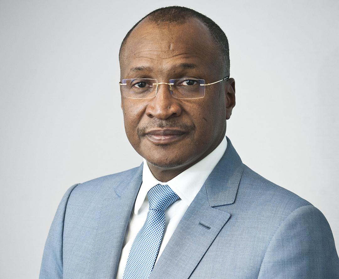 Aliou Boubacar Diallo, homme d'affaires malien, ici, à Paris, le 6 avril 2018.
