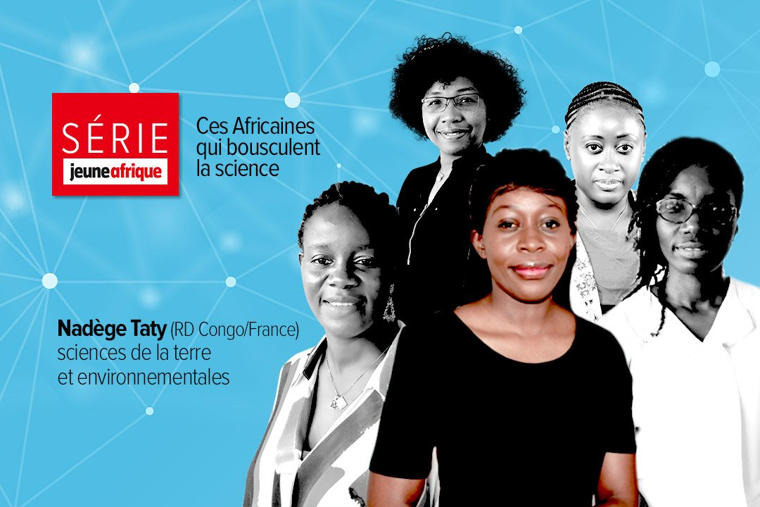 La scientifique franco-congolaise Nadège Taty.