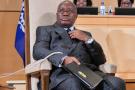 Nana Akufo-Addo, président du Ghana, à la 108e session (centenaire) de la Conférence internationale du travail. Genève, le 10 juin 2019.