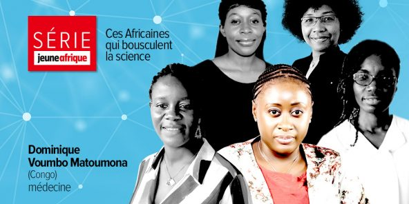 La scientifique congolaise Dominique Voumbo Matoumona.