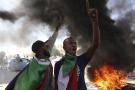 Une manifestation à Khartoum au deuxième anniversaire de la révolte, le 19 décembre 2020.