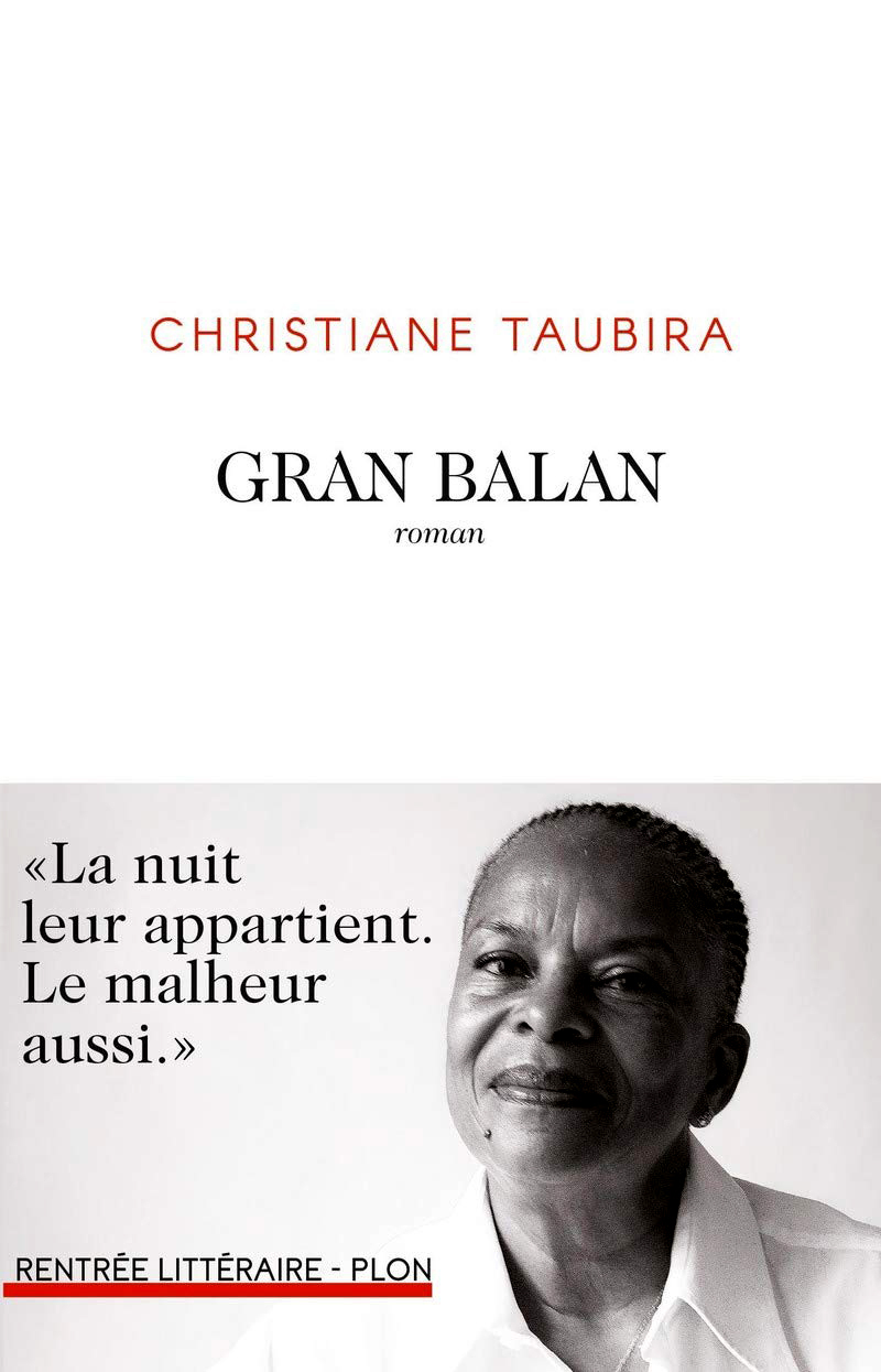 Couverture de livre de Christiane Taubira «Gran Balan»© DR