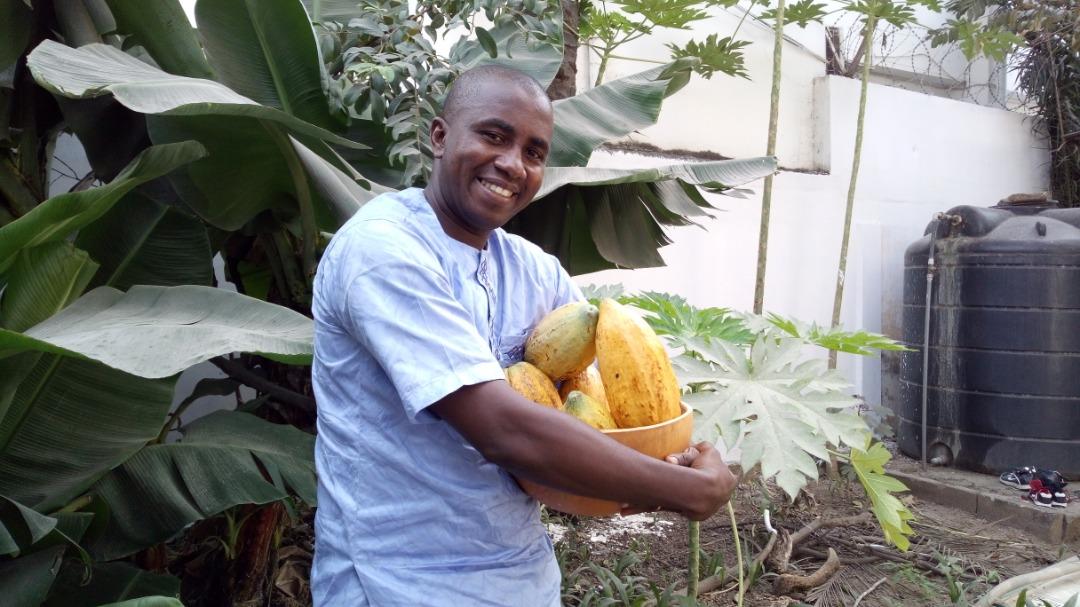Eric Agbokou, fondateur de Choco Togo