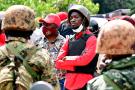 Robert Kyagulanyi, alias Bobi Wine, candidat à l'élection présidentielle du 14 janvier 2021.