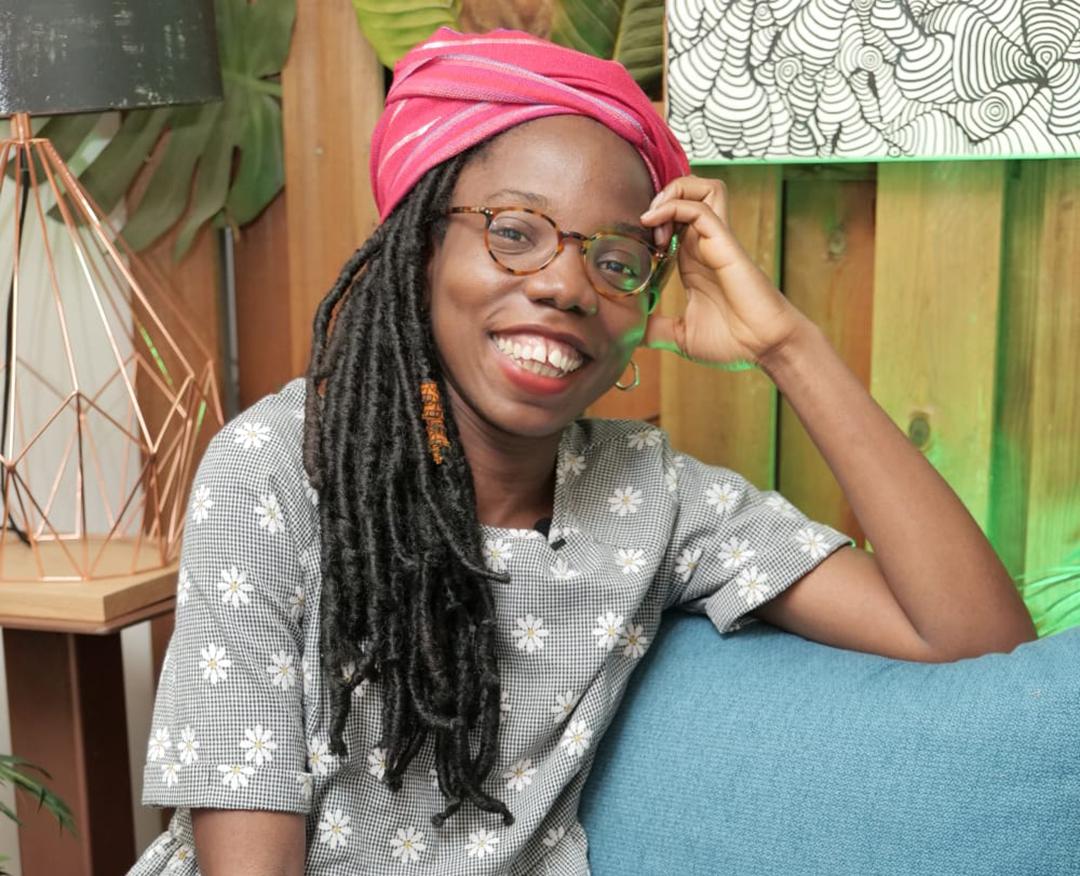 La journaliste Sinatou Saka est chargée des podcasts et des projets éditoriaux chez RFI et France 24.