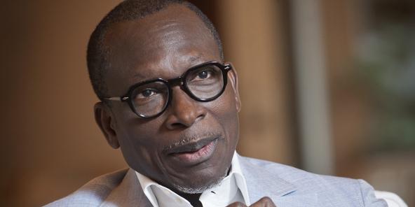 Patrice Talon à son domicile a Cotonou lors d'une interview accordée a Jeune Afrique, le 9 septembre 2020
