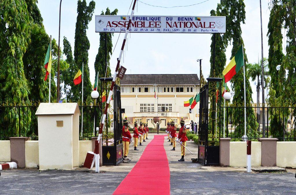 L'Assemblée nationale du Bénin, à Porto Novo.