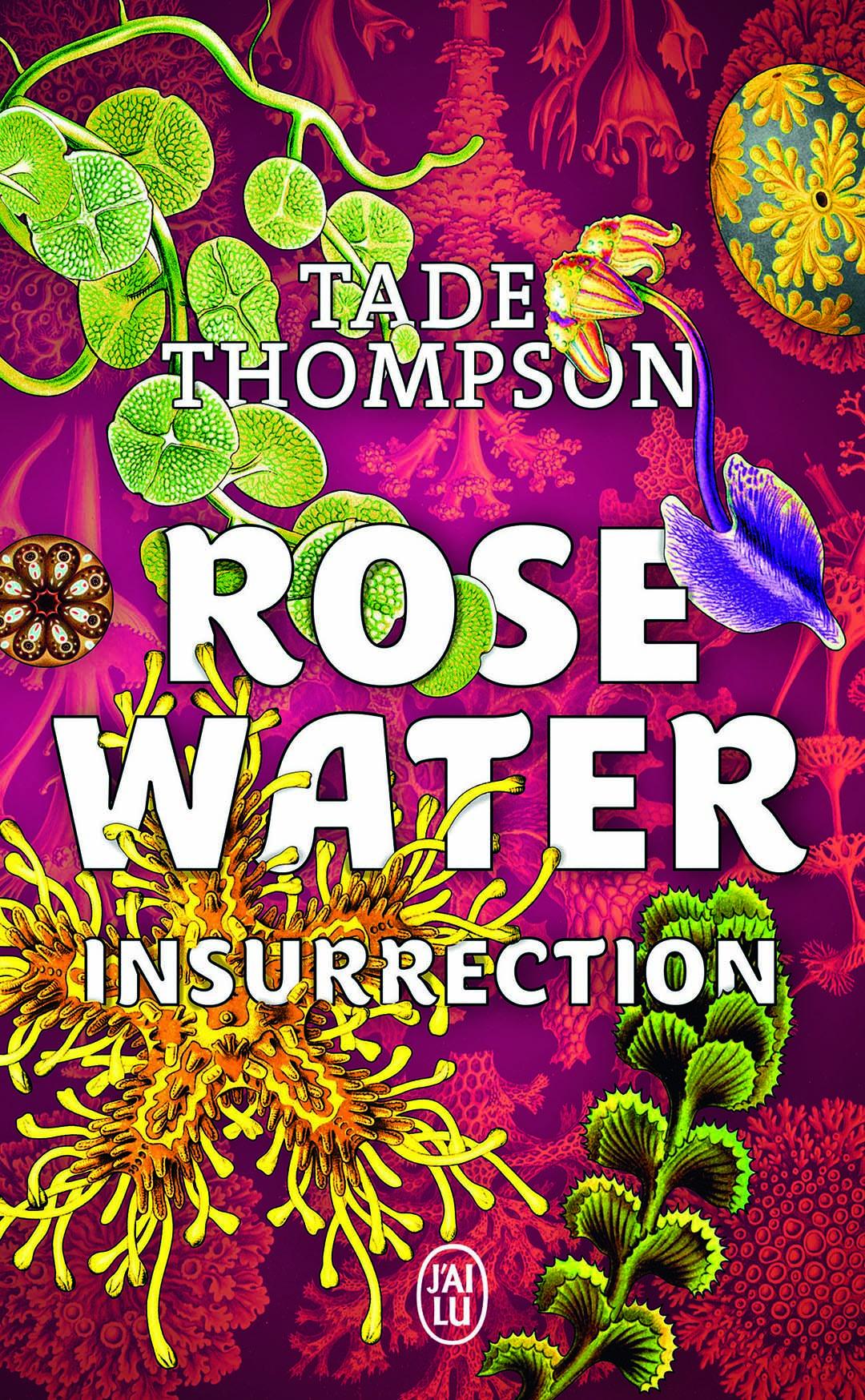 Couverture du livre «Rosewater».