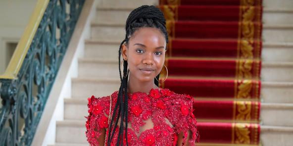 L'étudiante sénégalaise Diary Sow, ici photographiée en août 2020 à Dakar, a disparu mystérieusement début janvier à Paris.