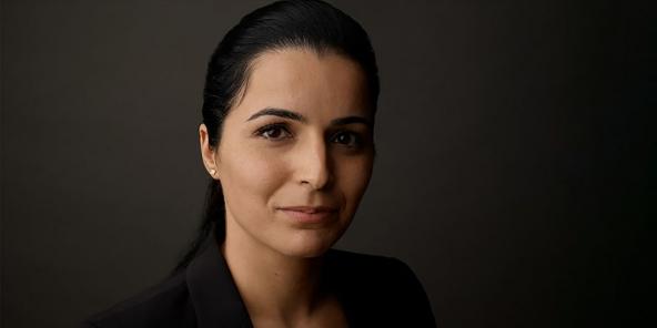 Olfa Hamdi, ancienne présidente directrice générale de Tunisair.