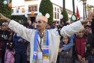 Des Amazighs (Berbères) participent à un rassemblement pour célébrer le nouvel an amazigh connu sous le nom de Yennayer à Rabat, au Maroc, le 12 janvier 2020.