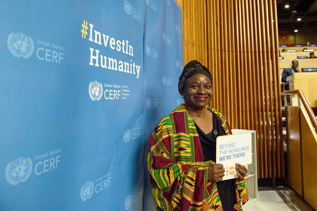 Natalia Kanem, directrice du Fonds des nations unies pour la population (Fnuap)