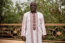 Le Burkinabè Simon Compaoré, président du Mouvement du peuple pour le progrès (MPP), à son domicile de Ouagadougou.