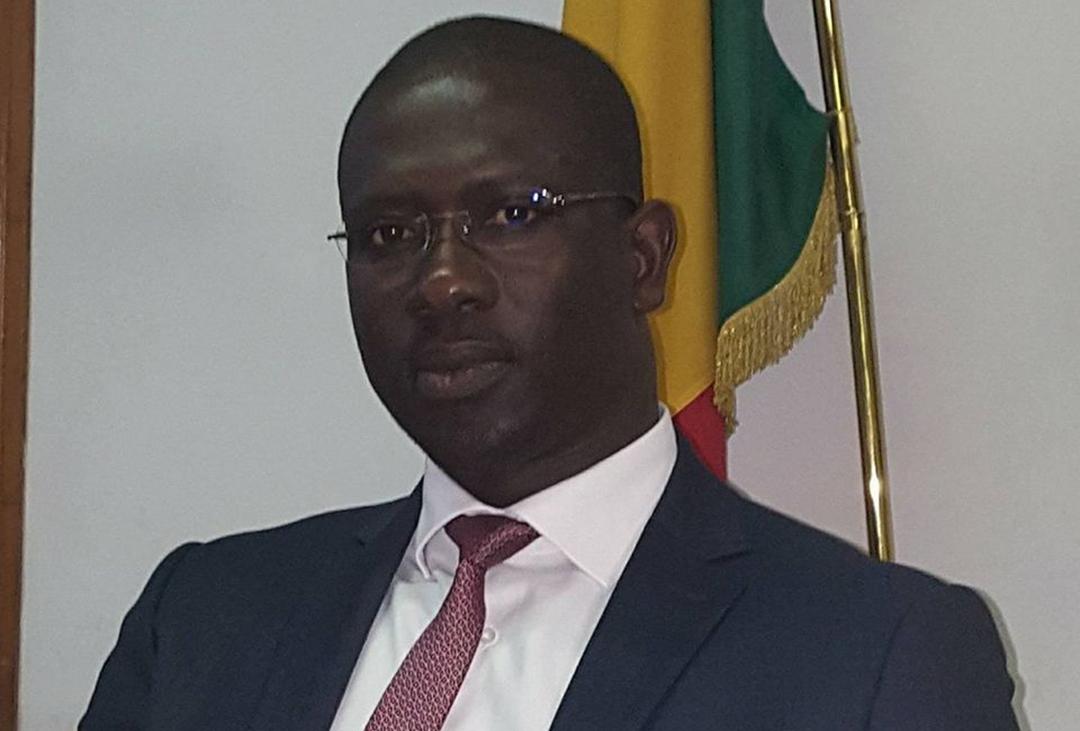 Moïse Sarr, secrétaire d'État auprès du ministère sénégalais des Affaires étrangères.