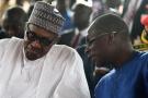 Muhammadu Buhari et Patrice Talon, en octobre 2018.