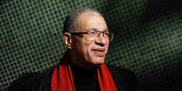Lionel Zinsou au One Planet Summit à Paris, en décembre 2017