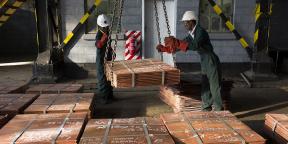 Mine de cuivre de Mufulira, en Zambie.