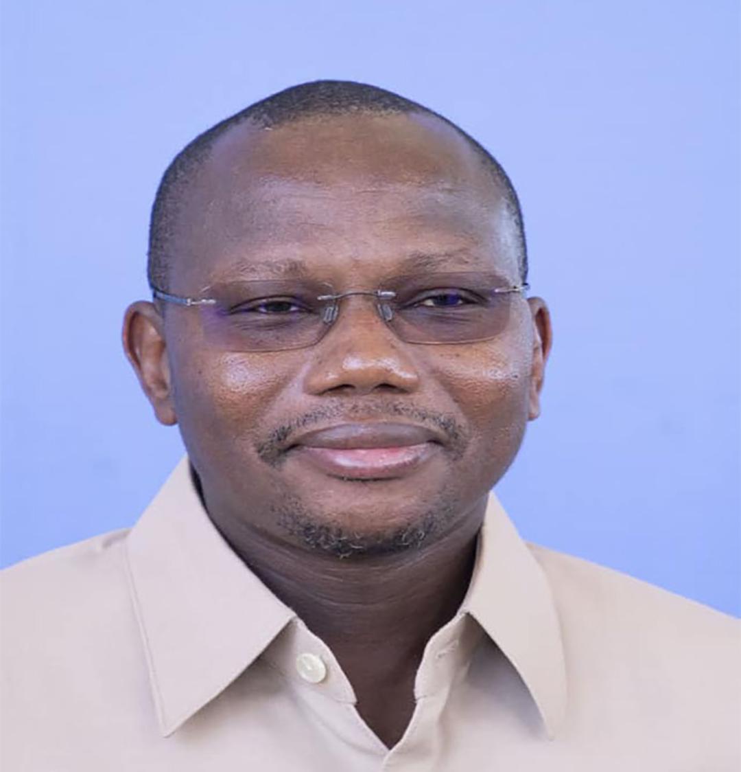 Stanislas Ouaro, ministre burkinabè de l'Éducation, de l'alphabétisation et de la promotion des langues nationales