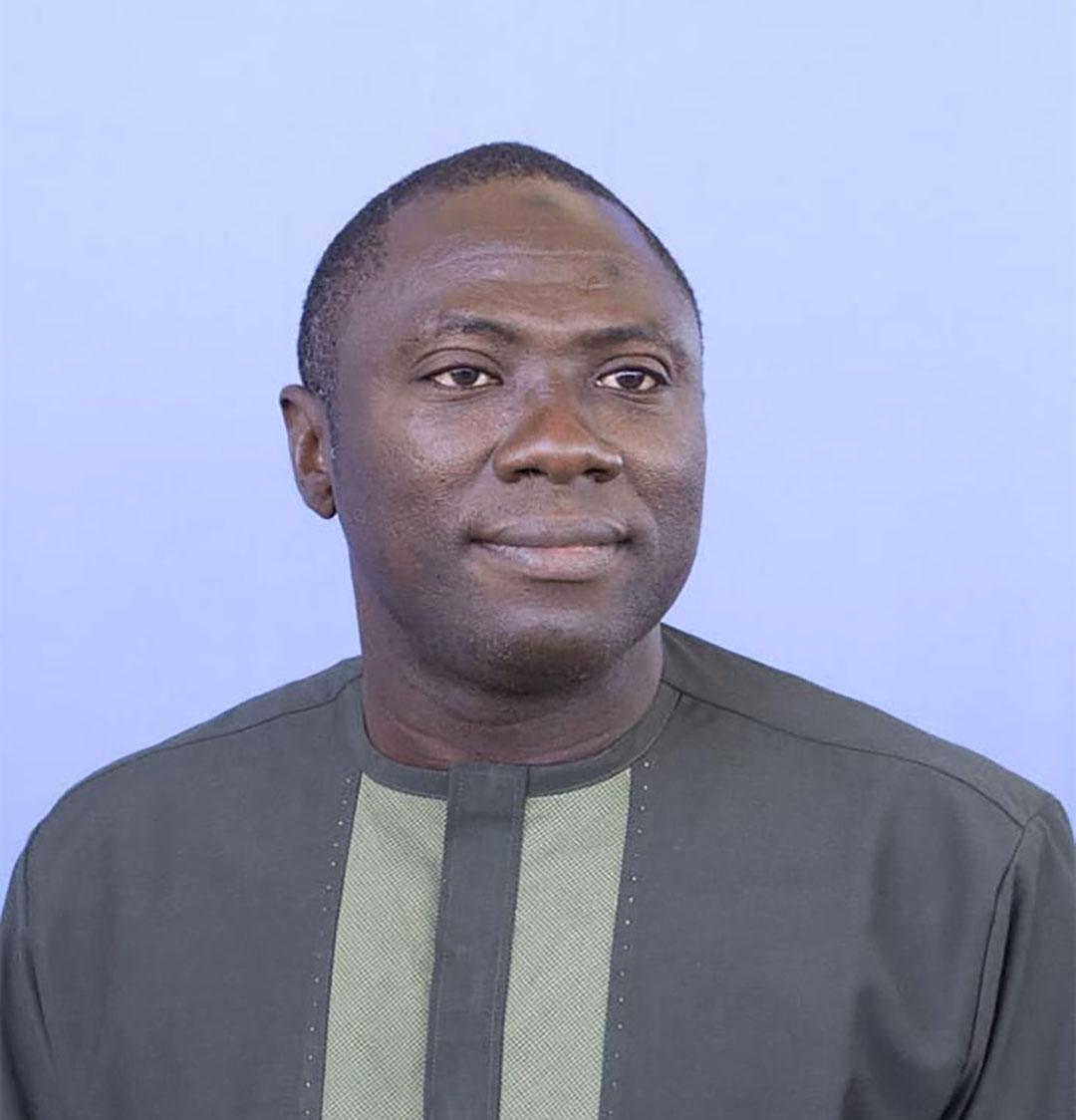 Séni Mahamadou Ouédraogo, ministre burkinabè de la Fonction publique, du travail et de la protection sociale.