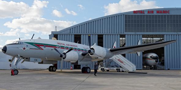 Un appareil de la Royal Air Maroc