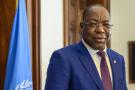 Le Sénégalais Mankeur Ndiaye a été nommé représentant spécial du secrétaire général de l'ONU pour la Centrafrique le 6 février 2019.