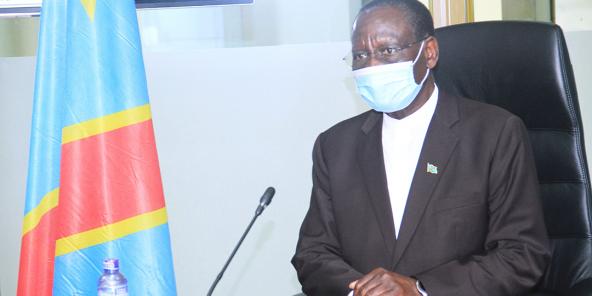Sylvestre Ilunga Ilunkamba, le 7 septembre 2020