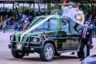Muhammadu Buhari durant la célébration de la fête de l'Indépendance, le 2 octobre 2020 à Abuja.