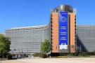 Vue du Berlaymont, siège de la Commission européenne, à Bruxelles.
