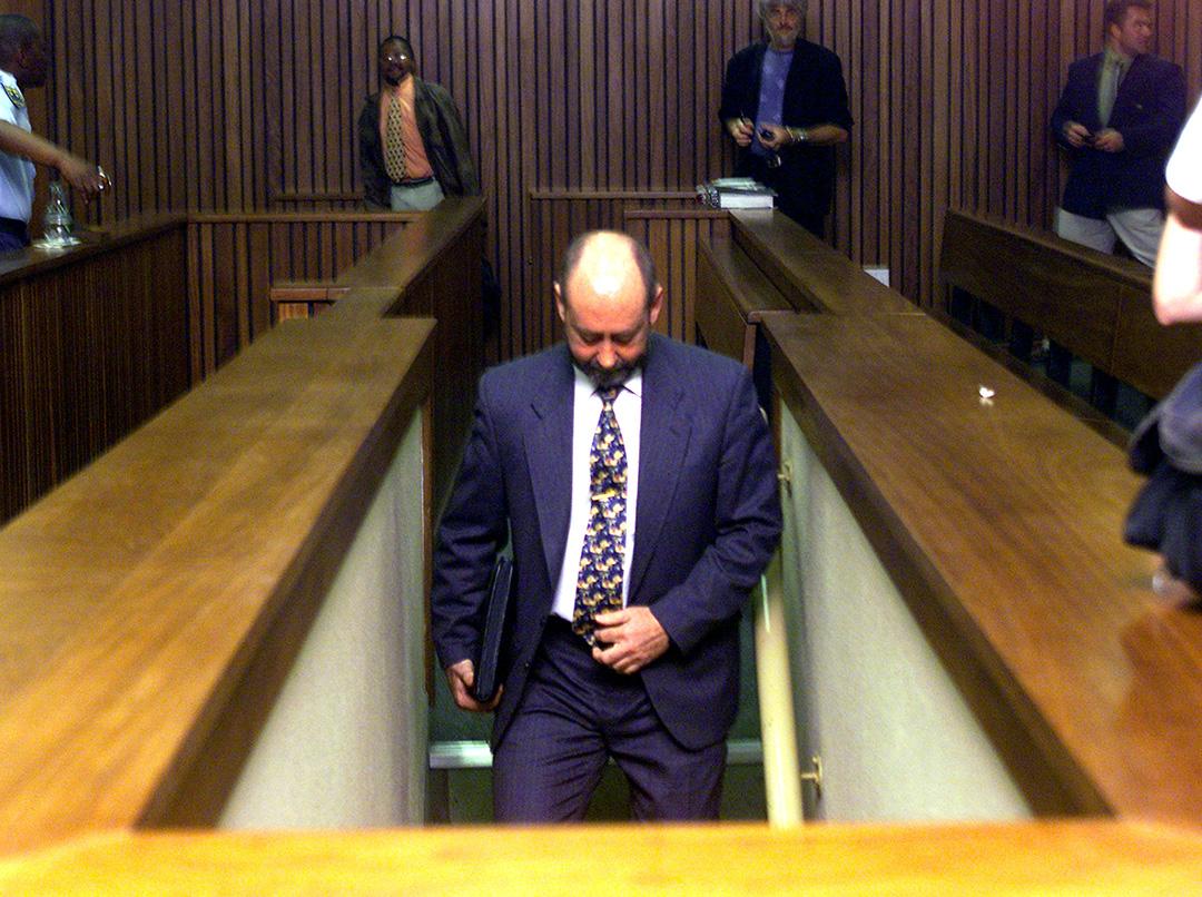 Wouter Basson lors de son procès