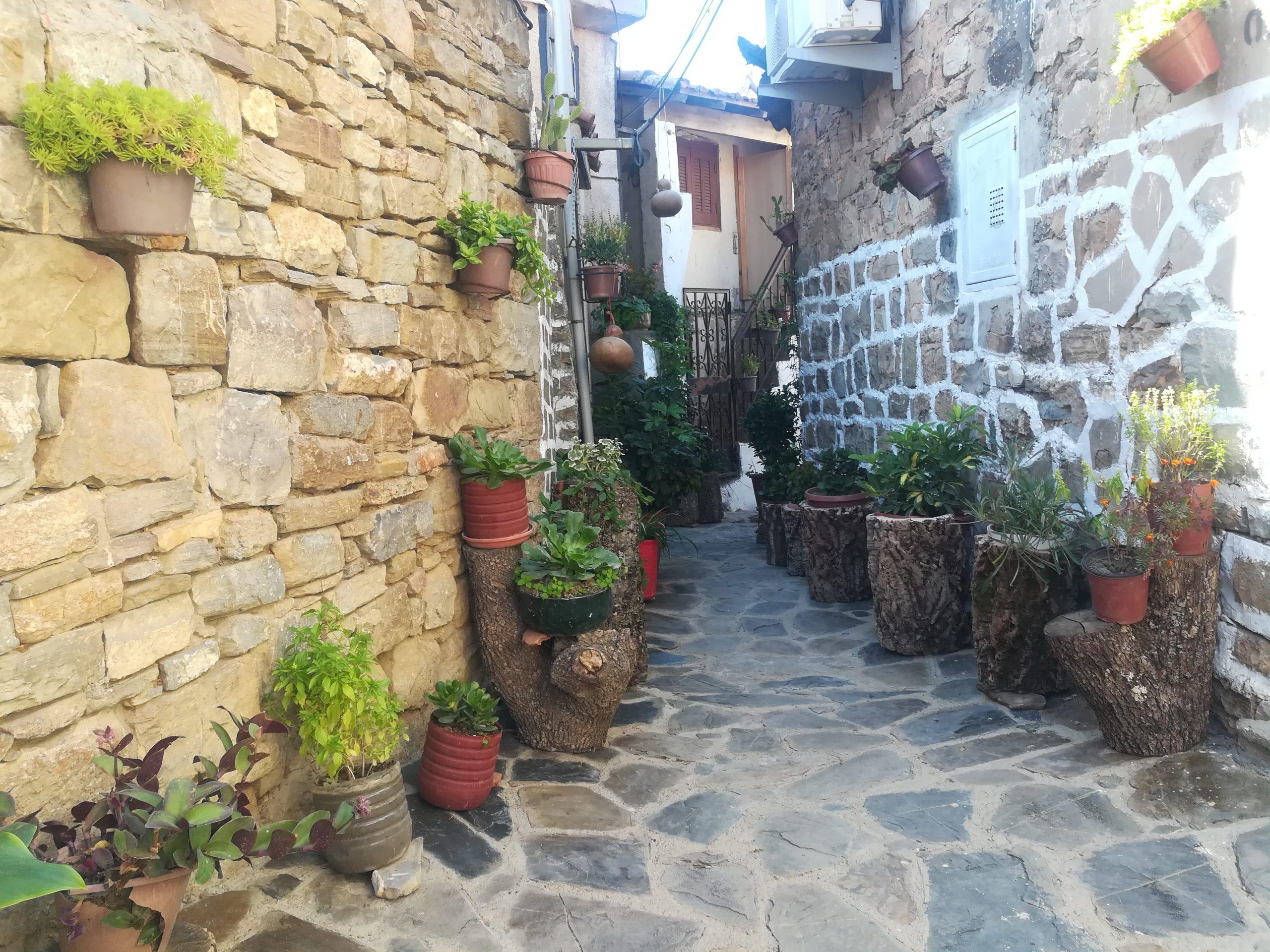 Les ruelles du village Aguemoune Nath Amar.