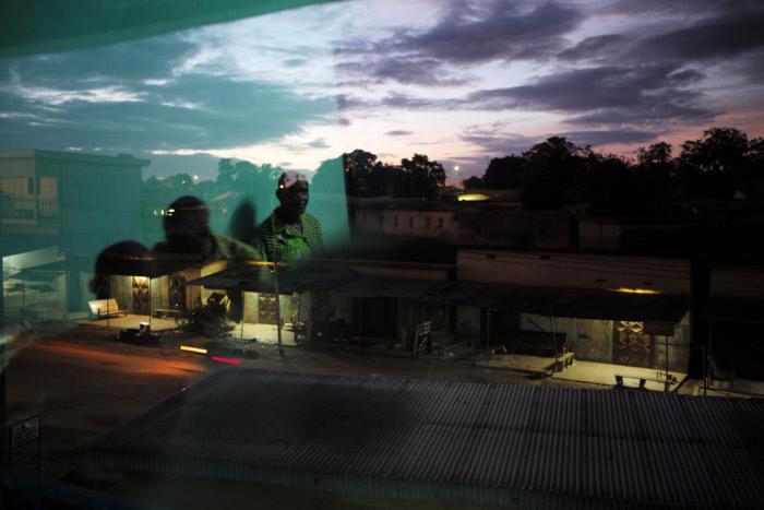 Une vue du centre de Korhogo, en 2015.