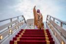 Le prince héritier saoudien Mohammed Ben Salman à l'aéroport de Riyad, le 23 novembre 2018.