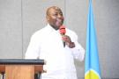 Le président burundais, Évariste Ndayishimiye, lors d'un discours devant les représentants des médias, le 28 janvier 2021.