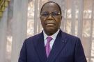 Clément Mouamba, Premier ministre du Congo, en février 2021.
