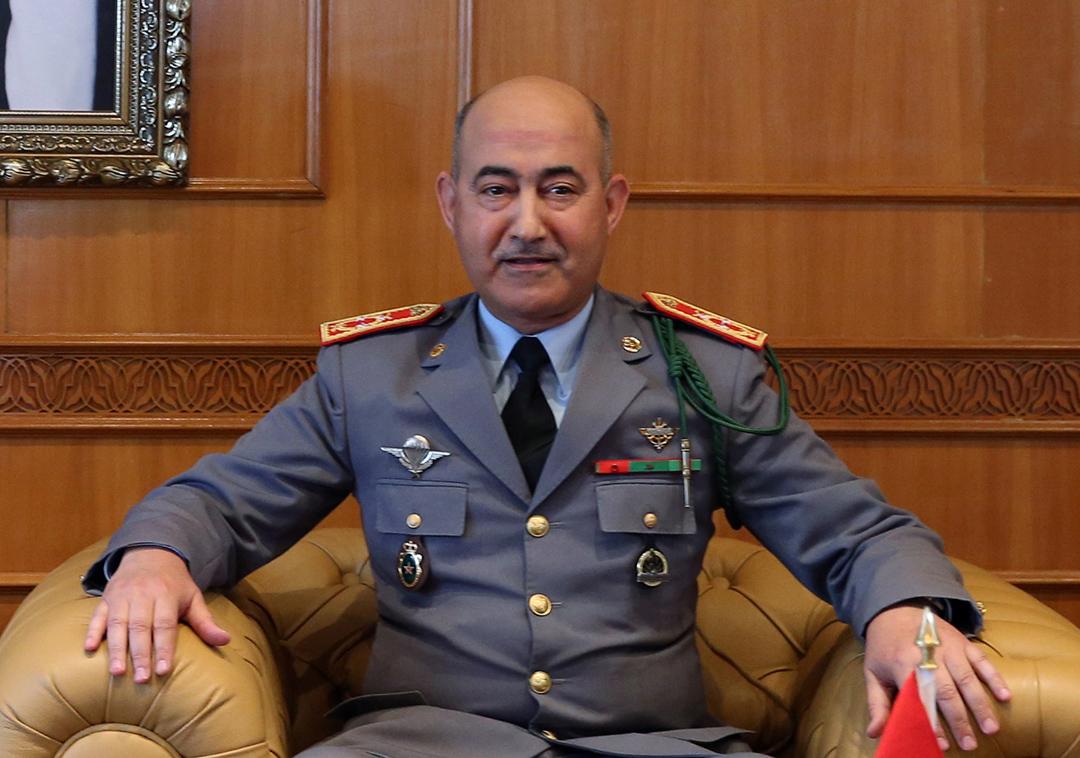 L'Inspecteur gÈnÈral des Forces armÈes Royales, le gÈnÈral de corps díarmÈe, Abdelfattah Louarak _SL