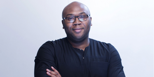 Le Britannico-Nigérian Jason Njoku, PDG d'Iroko Partners Ltd, en août 2015.