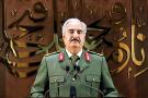 Khalifa Haftar dans une vidéo diffusée le 28 avril 2020.