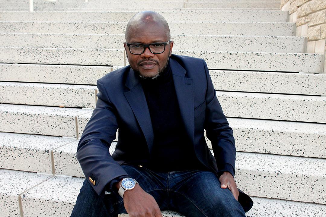 L'auteur congolais Blaise Ndala