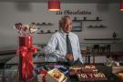 Fredy Rajaonera, directeur général adjoint de la Chocolaterie Robert, au siège de l'entreprise, à Antananarivo, le 8 février 2021.