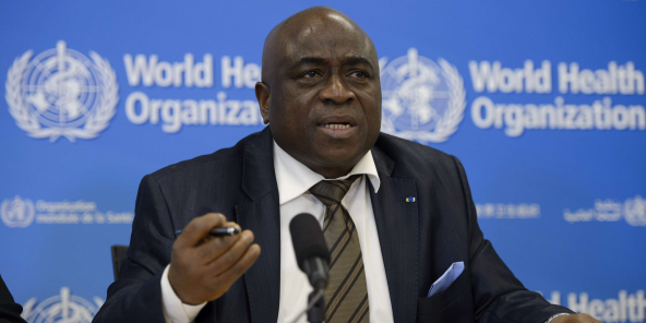 Le ministre guinéen de la Santé, Rémy Lamah, en décembre 2014.