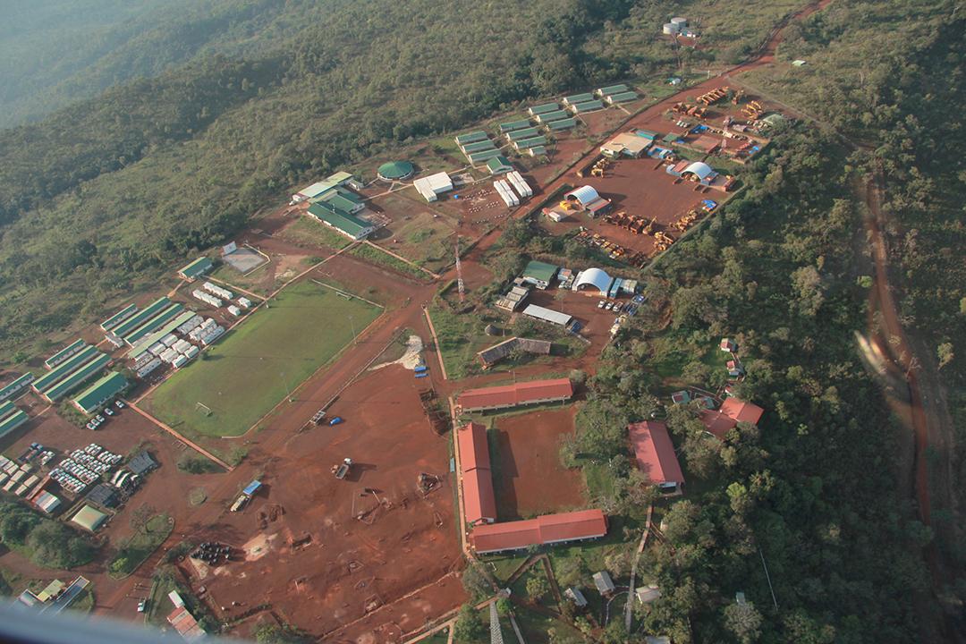 Les installations minières de Rio Tinto, dans le Simandou, en Guinée.