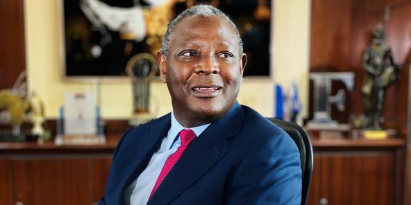 James Mwangi à Nairobi, le 11 novembre 2020.