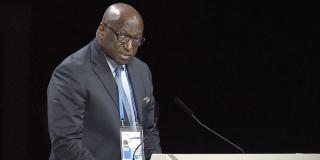 Ancien président de la Fédération ivoirienne de football (FIF), Jacques Anouma est l'un des candidats à la présidence de la Confédération africaine de football (CAF).