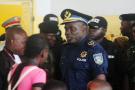 John Numbi au tribunal, à Kinshasa, en janvier 2011.